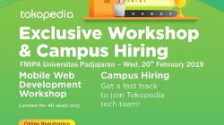 Tokopedia Exclusive Workshop & Campus Hiring