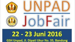 Unpad Job Fair, 22-23 Juni 2016